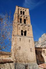 Eglise - Français:   France - Provence - Moustiers-Sainte-Marie: Clocher