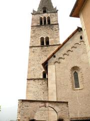 Eglise - Français:   Saint-Paul-sur-Ubaye - Eglise Saint-Pierre-et-Saint-Paul - Clocher