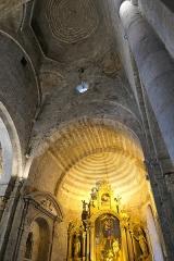 Ancienne cathédrale Notre-Dame - Deutsch: Cathédrale Notre-Dame-des-Pommiers de Sisteron Altar