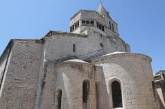 Ancienne cathédrale Notre-Dame - Deutsch: Cathédrale Notre-Dame-des-Pommiers de Sisteron Apsis