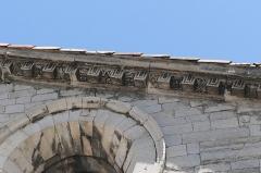 Ancienne cathédrale Notre-Dame - Deutsch: Cathédrale Notre-Dame-des-Pommiers de Sisteron Maskenfries