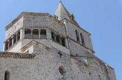 Ancienne cathédrale Notre-Dame - Deutsch: Cathédrale Notre-Dame-des-Pommiers de Sisteron Turm