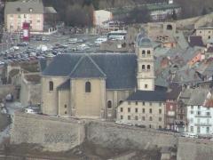 Eglise paroissiale Notre-Dame, Saint-Nicolas (ancienne collégiale) -  Briançon: la Collégiale de Briançon.
