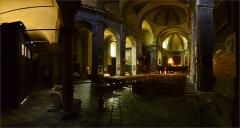 Eglise paroissiale Notre-Dame, Saint-Nicolas (ancienne collégiale) - Français:   L\'intérieur de la collégiale Notre Dame et Saint Nicolas de Briançon.