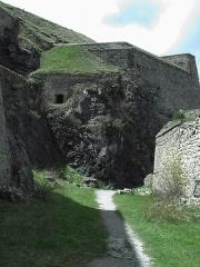 Anciennes fortifications de la Ville Haute -  Fort du Chateau