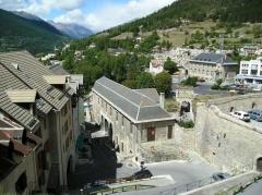 Anciennes fortifications de la Ville Haute - English: french town of Briançon