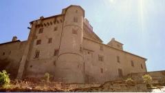 Fort de Château-Queyras -  Fort Queyras, in het dal van de rivier de Guille in de Franse Haute Alpes.