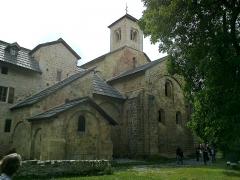 Ancienne abbaye de Boscodon -  Hautes-Alpes Abbaye Boscodon Eglise Chevet 13072014