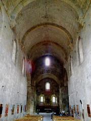 Ancienne abbaye de Boscodon -  Hautes-Alpes Abbaye Boscodon Eglise Nef