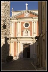 Eglise paroissiale, chapelle Saint-Esprit et tour Grimaldi -  Cathédrale Notre-Dame-de-la-Platea d'Antibes