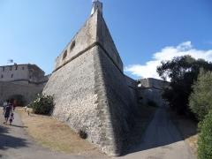 Fort-Carré -  Antibes- Pointe sud-est du Fort carré
