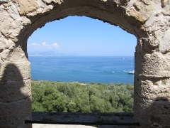 Fort-Carré - English: fort carré, antibes, france, view from bastion corsica