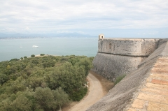 Fort-Carré - English: East point of Fort Carré, in Antibes, seen from de North point.
