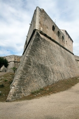 Fort-Carré - English: South point of Fort Carré, in Antibes.