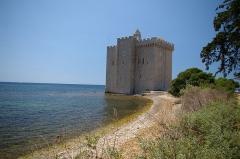 Château fort ou ancien monastère de Lérins -  Île Saint-Honorat