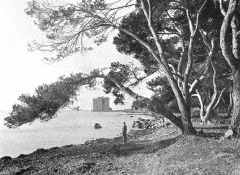 Château fort ou ancien monastère de Lérins - English: Image from a scanned version of the book