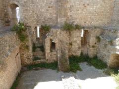 Château fort ou ancien monastère de Lérins - English: Monastère fortifié de l'abbaye de Lérins