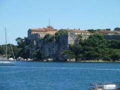 Fort, actuellement Musée de la Mer - Français:   ile ste marguerite