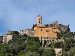 Eglise Notre-Dame de l'Assomption - English: Èze, small village on a hilltop near Nice, France
