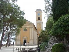 Eglise Notre-Dame de l'Assomption -  Notre Dame de l`Assomption, Èze, Provence-Alpes-Côte d'Azur, France
