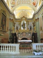 Eglise Notre-Dame de l'Assomption - English: Choir of the church Notre-Dame de l'Assomption in Eze (Alpes-Maritimes, France).