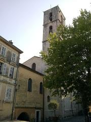 Cathédrale -  Grasse Cathedrale Notre-Dame-Du-Puy De Grasse Chevet 11072015