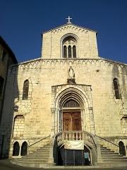 Cathédrale -  Grasse Cathedrale Notre-Dame-Du-Puy De Grasse Porche