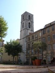 Cathédrale -  Place de l`Eveche, Grasse, Provence-Alpes-Côte d'Azur, France