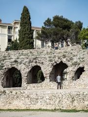 Arènes de Cimiez - English: Roman arena in Nice