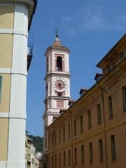 Caserne Rusca - Français:   Tour de l\'Horloge à Nice
