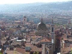 Caserne Rusca -  Vue du Vieux-Nice
