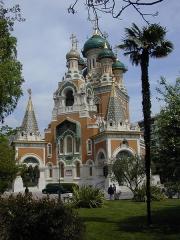 Cathédrale orthodoxe Saint-Nicolas et chapelle du tsarévitch Nicolas Alexandrovitch -  La cathédrale orthodoxe russe Saint-Nicolas