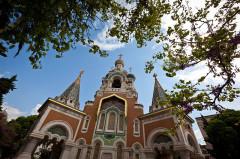 Cathédrale orthodoxe Saint-Nicolas et chapelle du tsarévitch Nicolas Alexandrovitch -  Nice