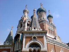 Cathédrale orthodoxe Saint-Nicolas et chapelle du tsarévitch Nicolas Alexandrovitch -  Eglise Russe de Nice