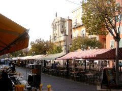 Chapelle de la Miséricorde -  Market Square in Old Nice