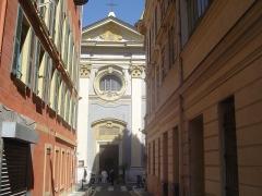 Eglise Saint-Jacques-le-Majeur dite du Gésu -  Le vieux Nice