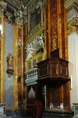 Eglise Saint-Jacques-le-Majeur dite du Gésu - Français:   Nice - Église Saint-Jacques-le-Majeur - Chaire