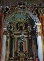 Eglise Saint-Jacques-le-Majeur dite du Gésu - Français:   Nice - Église Saint-Jacques-le-Majeur - Chapelle de la Madone du Rosaire