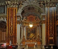 Eglise Saint-Jacques-le-Majeur dite du Gésu - Français:   Nice - Église Saint-Jacques-le-Majeur - Chapelle du Sacré-Cœur de Jésus -2