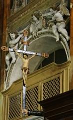 Eglise Saint-Jacques-le-Majeur dite du Gésu - Français:   Nice - Église Saint-Jacques-le-Majeur - Décor de la chaire