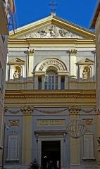 Eglise Saint-Jacques-le-Majeur dite du Gésu - Français:   Nice - Église Saint-Jacques-le-Majeur - Façade