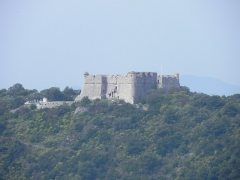 Fort du Mont-Alban -  Fort Montalban depuis Eze