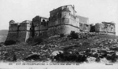 Fort du Mont-Alban - Français:   Le Fort du mont Alban vers 1900.