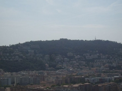 Fort du Mont-Alban - English: Mont Alban east of Nice
