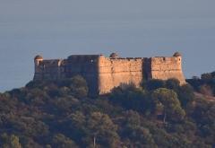 Fort du Mont-Alban - Français:   Fort du Mont Alban Face Ouest ensoleillée Alpes-maritimes France