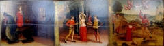 Musée des Beaux-arts Jules Chéret - Français:   Predelle du retable de Sainte Marguerite (provenant de l\'église de Lucéram) par Louis Brea - Musée des Beaux-Arts de Nice
