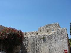 Remparts et cimetière avoisinant -  The Wall, Saint Paul de Vence, Provence-Alpes-Côte d'Azur, France