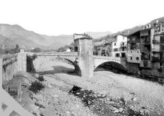 Vieux pont et tour qui le surmonte -