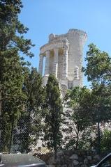 Ruines du Trophée d'Auguste, actuellement Musée du Trophée d'Auguste -  La Turbie