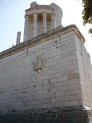 Ruines du Trophée d'Auguste, actuellement Musée du Trophée d'Auguste -  Tropaeum Alpium, La Turbie, France